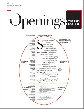 Openings: Studies in Book Art