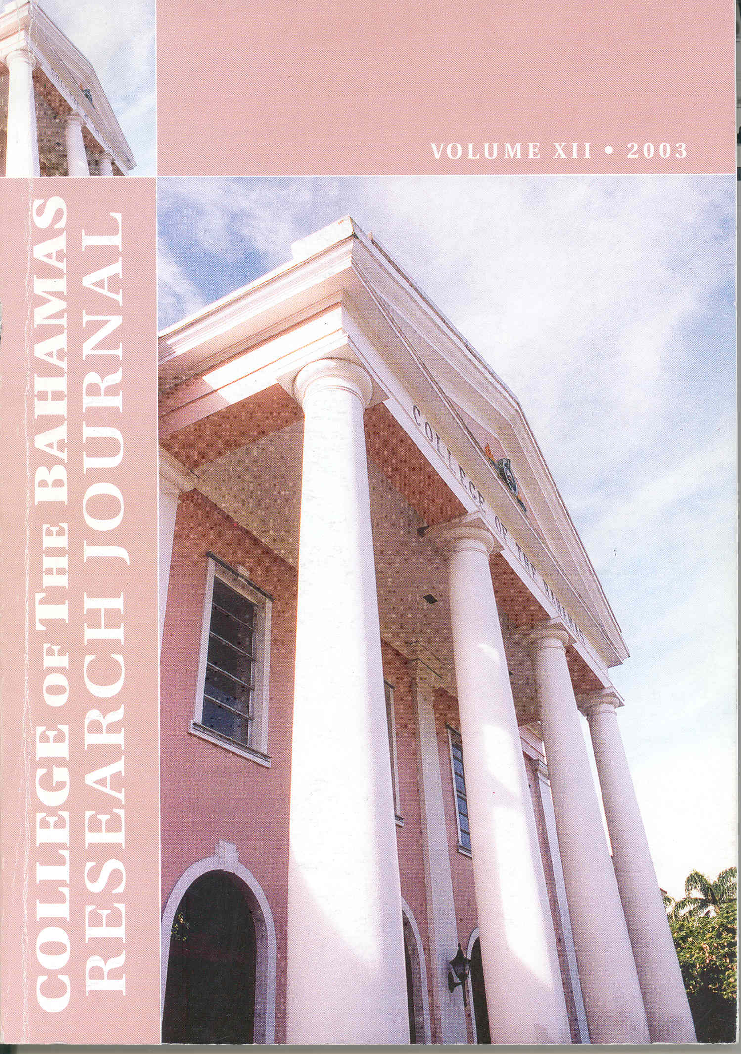 The College of The Bahamas Research Journal