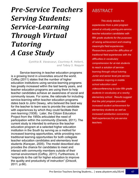 learning through experience essay