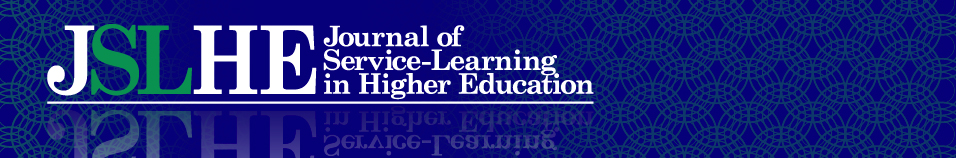 Journal of Service-Learning in Higher Education