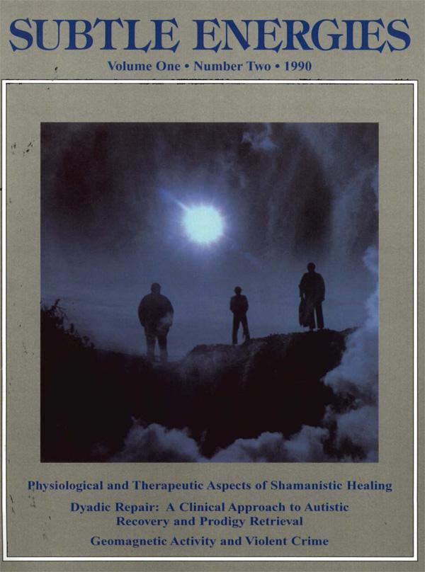 Subtle Energies and Energy Medicine Journal