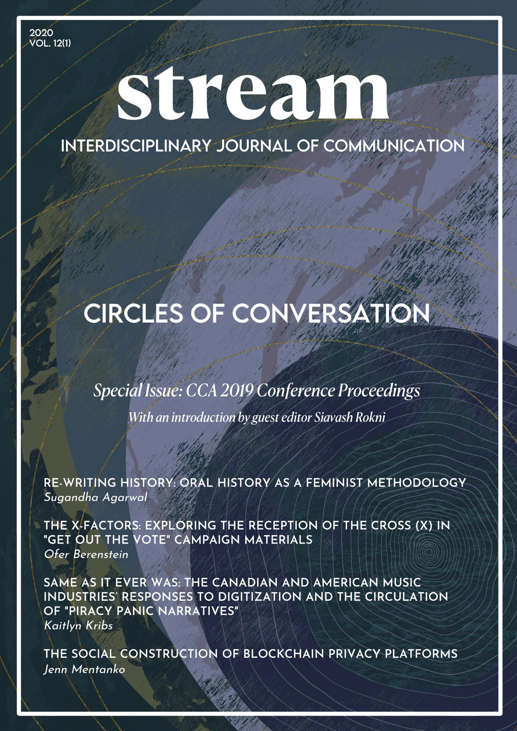 Circles of conversation - CCA 2019 graduate students proceedings